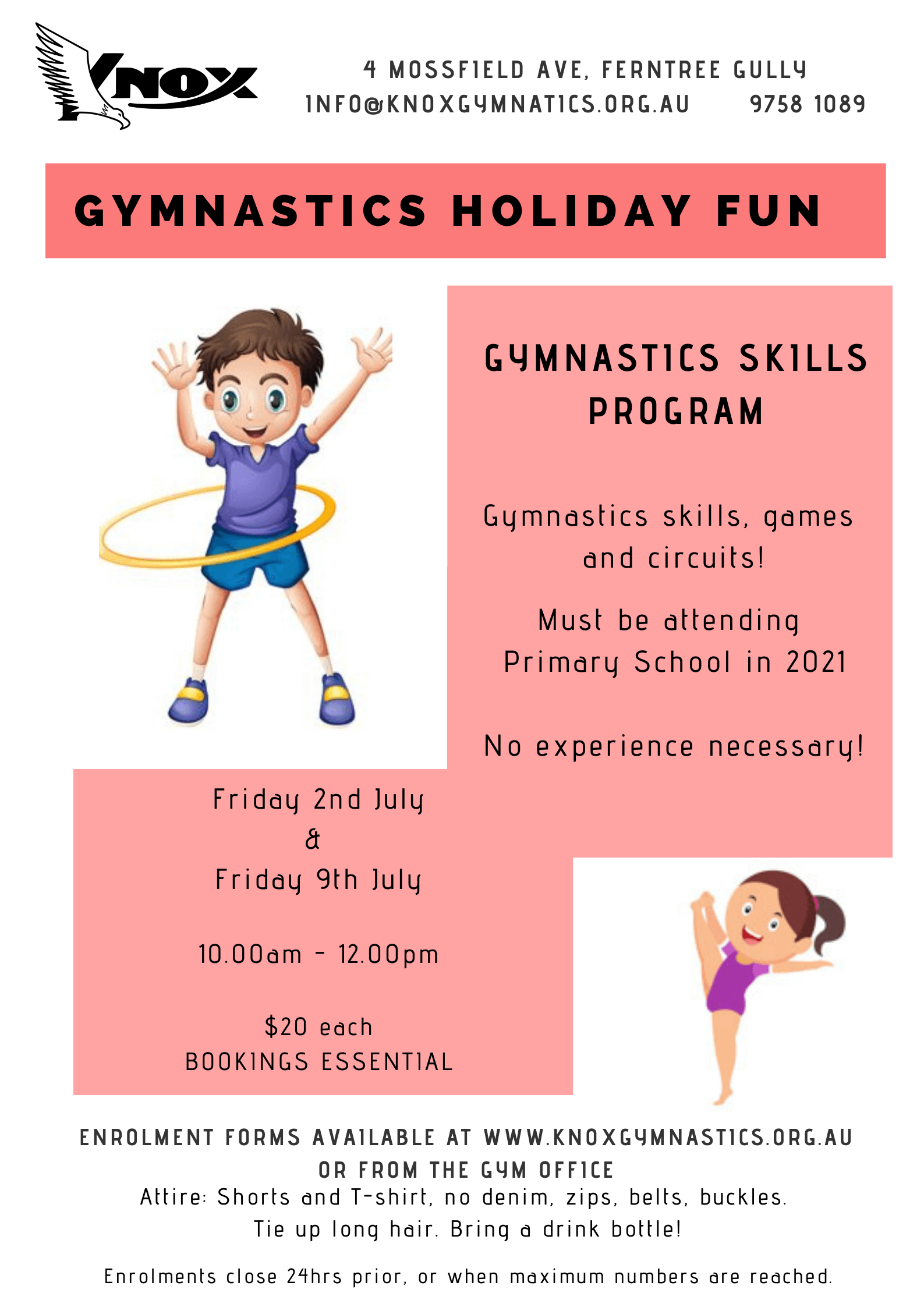 Holiday program Flyer
